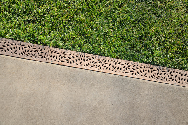 Decorative Yard Drainage : Nds mini channel botanical decorative grates outdoor
