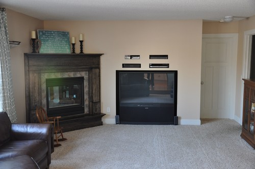 I have a hole in my wall! Corner Fireplace and TV design dilemma