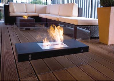 Buschbeck Boston Bio Ethanol Indoor Fireplace contemporary-indoor-fireplaces