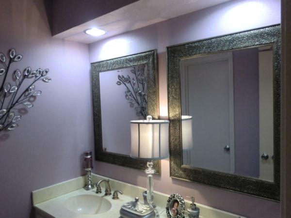 Luxurious Lavender Lavatory modern-bathroom