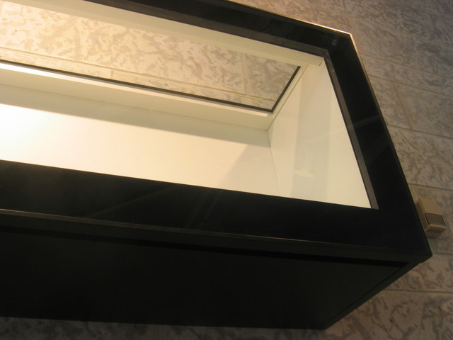 Black and White Display Cabinet - Contemporary - Display And Wall Shelves - toronto - by Paul ...