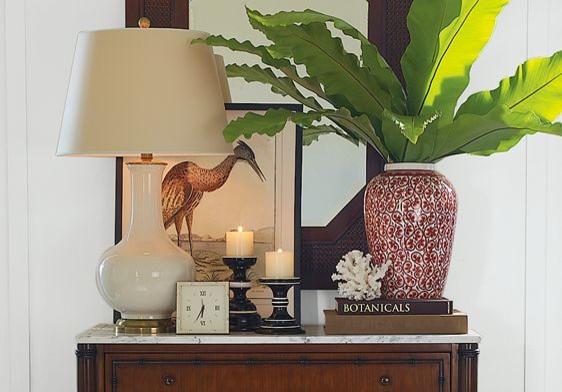 Spring 2009 British Colonial Entry Room Design Ideas | Williams-Sonoma Home tropical