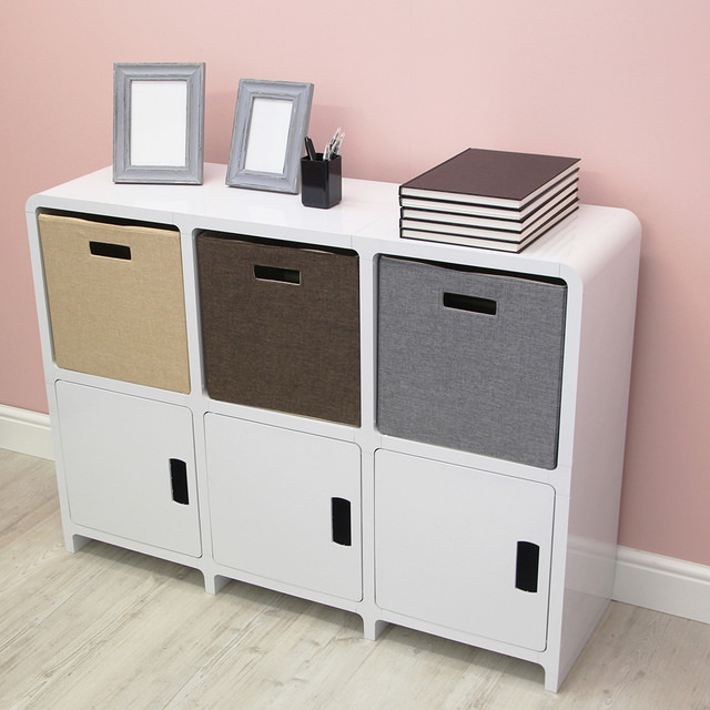 GULAN   Side Storage Cabinet - Contemporary - Storage Cabinets - south east - by Cubiix ...