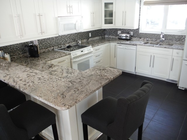 Andromeda White Granite Countertops