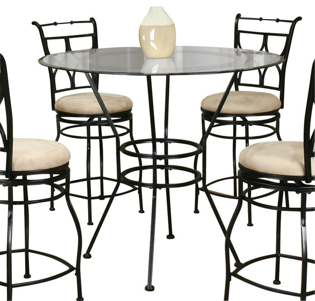 Cramco starling 42 inch round beveled edge glass top for 42 inch round dining table