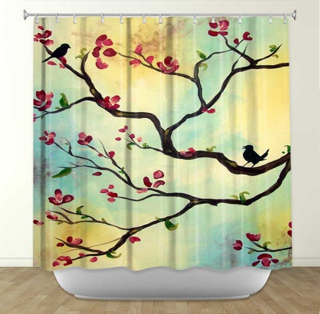 Amazing Shower Curtains traditional-shower-curtains