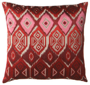 Admon Embroidered Pillow traditional-decorative-pillows