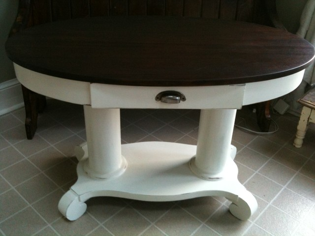 She's Crafty projects eclectic-dining-tables