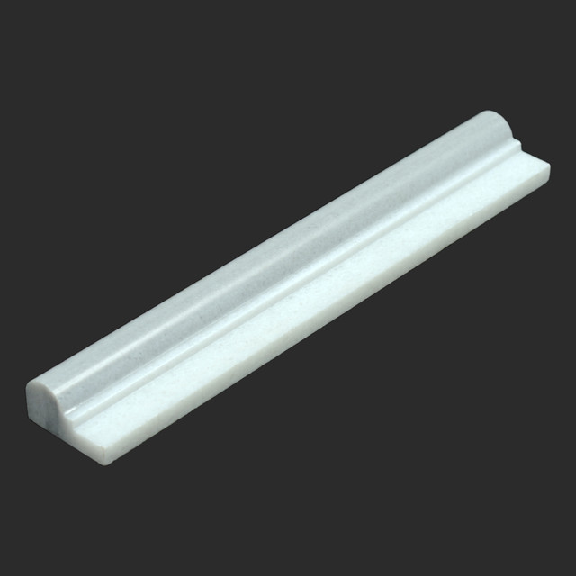 Equator Polished Marble Crown Chair Rail Moulding