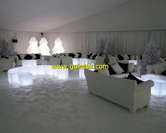 Illuminated Led Stools,glowing led table -