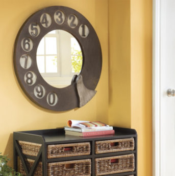 Rotary Dial Mirror traditional-mirrors
