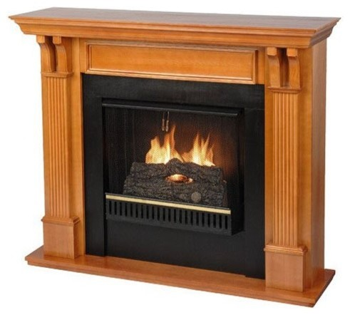real flame ashley gel fuel fireplace oak traditional fireplaces by hayneedle. Black Bedroom Furniture Sets. Home Design Ideas
