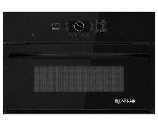 """Jenn-Air 30"""" Built-in Microwave Oven, Black On Black 