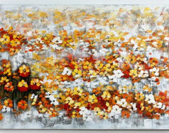 Fields of Gold - Modern Paintings modern artwork