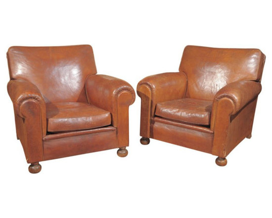 One Left! - Deco Club Chair from Kendall Wilkinson - $4,500 on Chairish.com -