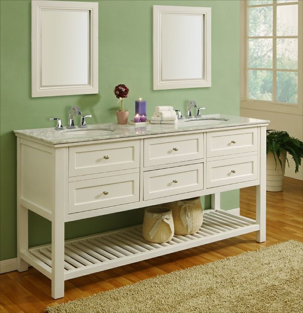 Vintage bathroom vanities traditional bathroom vanity - Antique traditional bathroom vanities design ...