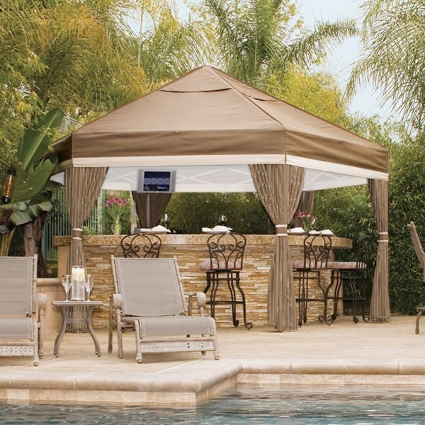 Luxe Outdoor Gazebo - gazebos - chicago - by Home Infatuation