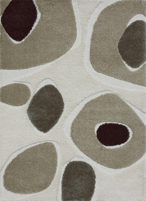 "Loloi Encore EN-04 2'4"" x 7'7"" Ivory, Multi Rug contemporary-rugs"