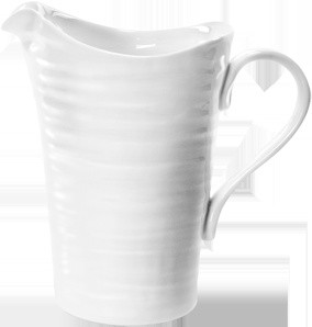 Sophie Conran Large Pitcher, White traditional serveware