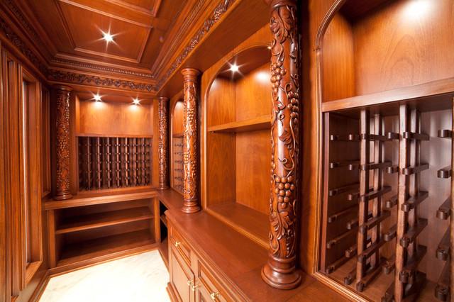 Wine Cellar traditional-laundry-room