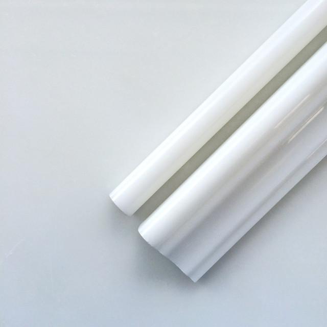 Thassos White Marble Crown Chair Rail & Pencil And 12x12