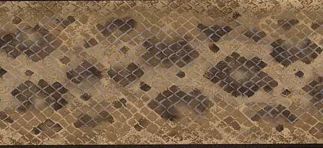 Black Diamond Wallpaper Border traditional-wallpaper