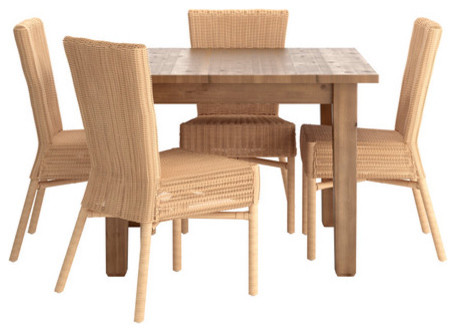 STORNÄS/HAROLA Table and 4 chairs - modern - dining tables - by IKEA