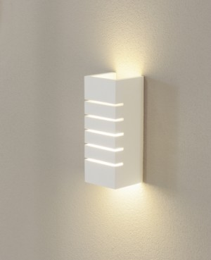 Contemporary Plaster Wall Lights : GL 100 Slot Plaster Wall Sconces - Modern - Wall Sconces - by Interior Deluxe