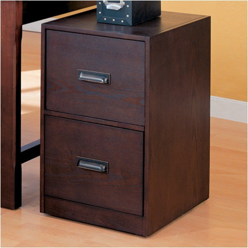 Redding File Cabinet in Wood Grain Finish - Modern ...