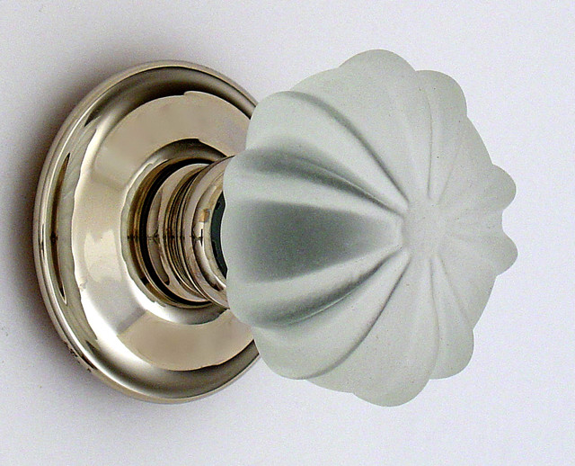 Decorative glass knobs - Traditional - Cabinet And Drawer Knobs - other metro - by Merlin Glass
