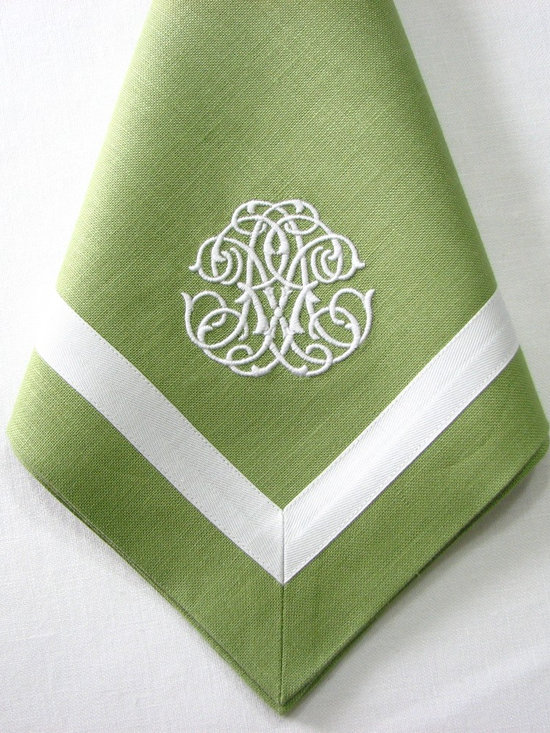 Handmade Table Linen - Monogrammed Heirlooms LLC