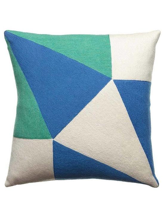Prism Cream Marine Pillow -