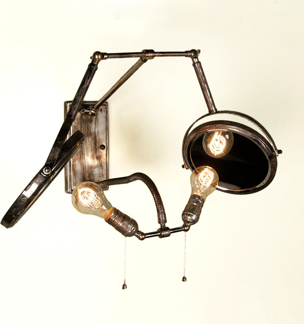 Reflective Illumination Sconce eclectic-wall-lighting