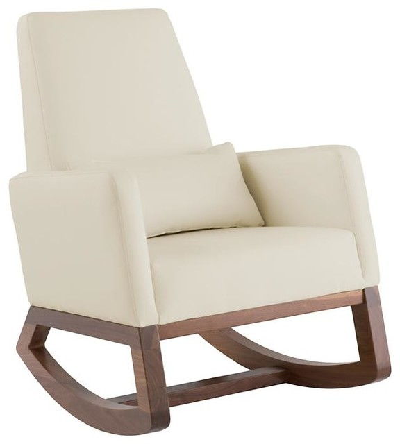 Joya Rocker, Stone - modern - rocking chairs and gliders - by The