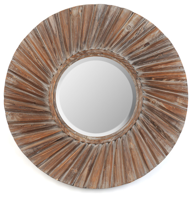 "Distressed Josie Mirror, 35"" - Wall Mirrors - by Kirkland's"