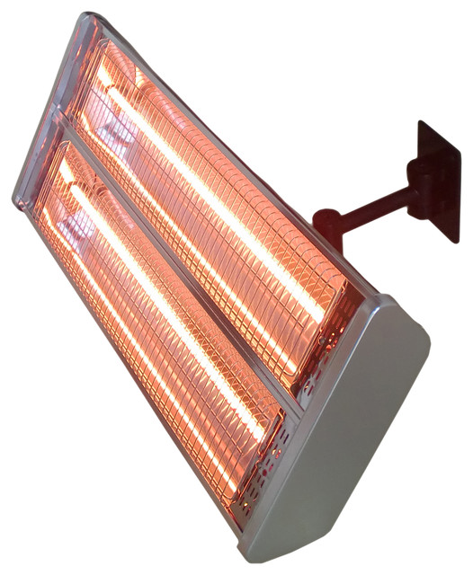 Electric Double Heating Wall Mount Infrared Heat Lamp Modern Patio Furniture And Outdoor