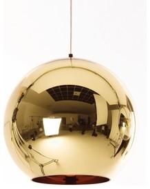 Tom Dixon | Bronze Copper Shade Pendant Light modern-pendant-lighting