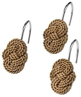 Coastal Shower Curtain Hooks - Traditional - Bath Products - by Target