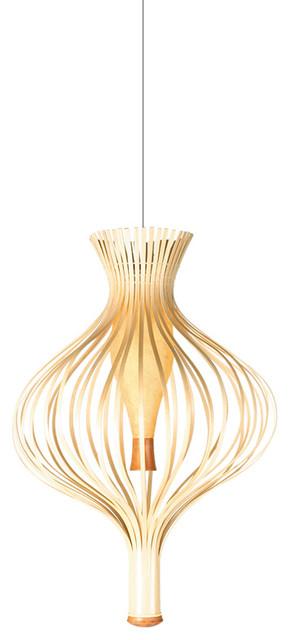 Hive Bud Hanging Lamp modern-pendant-lighting
