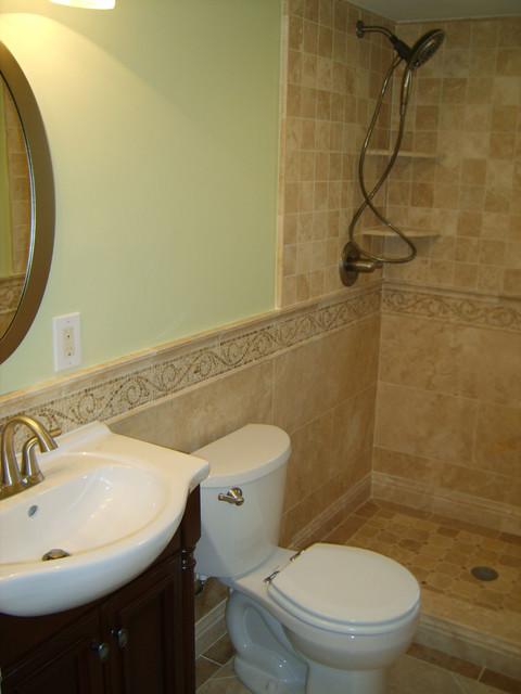 Small bathroom for Small mediterranean bathroom