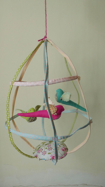 Large Birdcage eclectic nursery decor