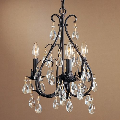 Laura Ashley MX2015 Monique 3-Light Mini Chandelier - 13W in. - Traditional - Chandeliers - by ...