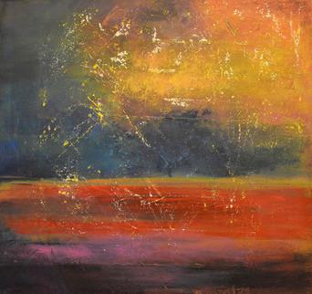 Light Reign (Original) by Linda Bailey contemporary-mixed-media-art