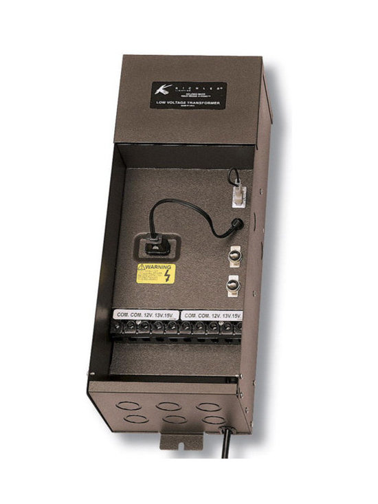 Kichler - 15PL200AZT Plus Series 200 Watt Transformer (Bronze) - Call for best prices. Here's our low price guarantee.