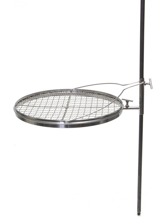 Camerons Products - Portable Open Fire Pit Grill - - Designed with the outdoorsman in mind.