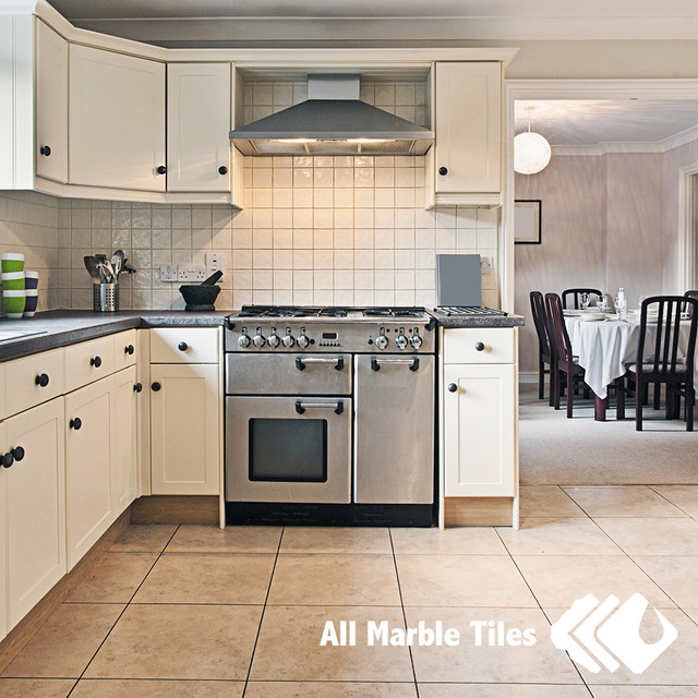 Kitchen Design Floor Tiles Beige Limestone