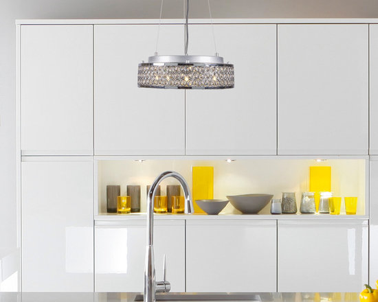 Pendant Lighting - Crystal Pendant from the Joshua Marshal Collection