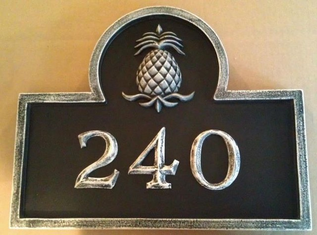 Address number plaque house numbers boston by marie ricci