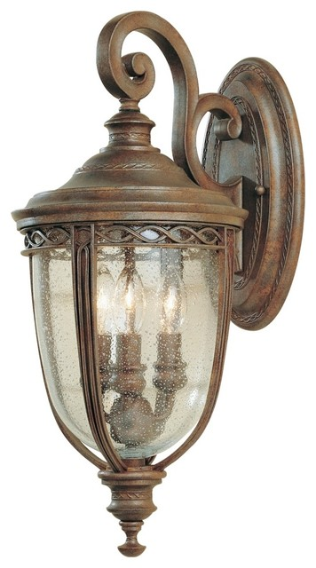 Cottage Outside Wall Lights : Feiss English Bridle Down Wall Outdoor Light - Traditional - Outdoor Lighting