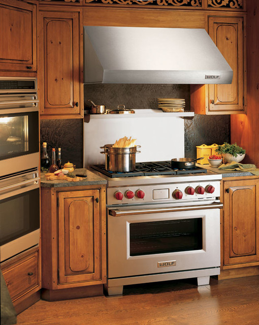 Wolf 36 Pro Style Dual Fuel Range Classic Stainless